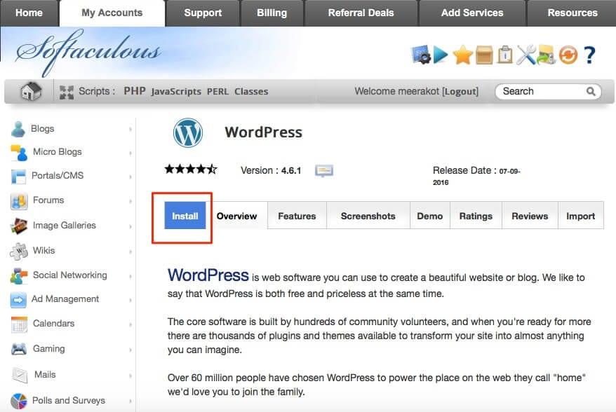 wordpress-install-siteground