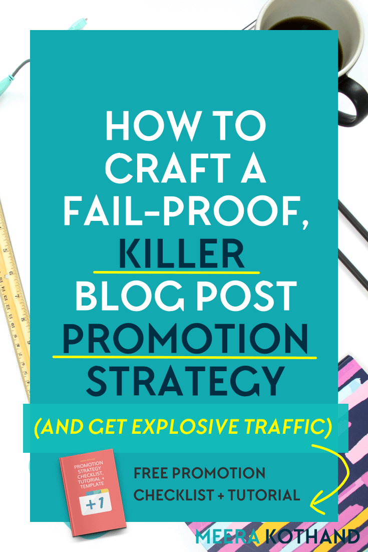 Are you wondering why you hardly get any shares and comments? Are you looking for tips on how to promote your blog posts to get more shares? The problem could lie with not having a blog post promotion strategy. You're simply not getting sufficient eyeballs on your content. In this post I give you ideas on how to craft your own promotion strategy and grab the cheat sheet to help with it!