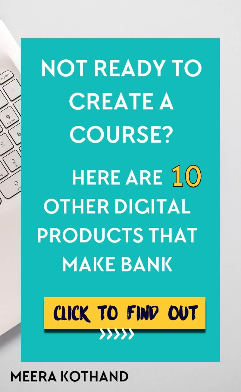 Feel the pressure to create a course but don't feel like you're ready or it's the right option for you? You don't have to create a course just because everyone does. Here are 10 other digital product ideas you can create (and that are guaranteed to sell)