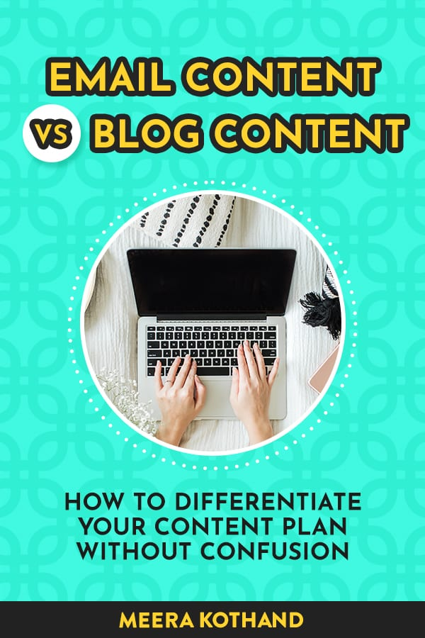 How do you know what content to post where? Here's a super simple method to keep your content organized and your audience wanting more!